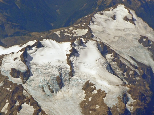 Glaciers, Olympic Mountains, west of Seattle