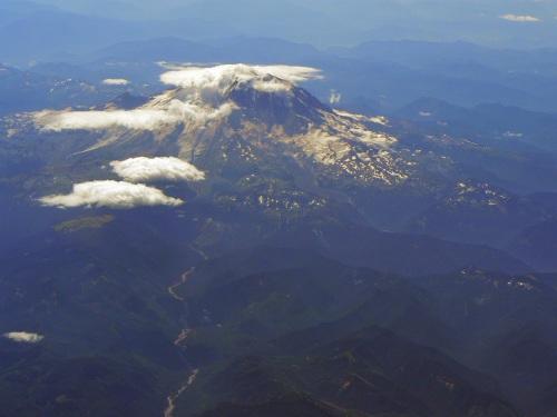 Mt. Rainier (14,411 feet / 4,394 m), highest point in the U.S. Pacific Northwest