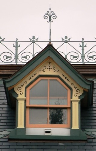 Dormer, old railway station