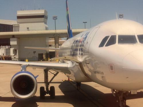Spiriti Airlines Airbus A320: Nice plane, un-nice airline
