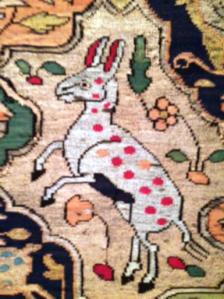Silk tapestry, Iran, ca. 1575