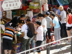 Traditional retailing, Des Voeux Rd.
