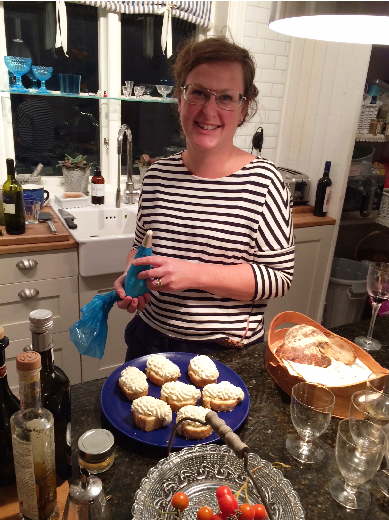 A superb cook, Carolina Paulsson