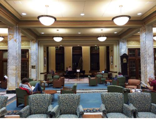 Common room, Memorial Union