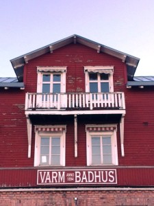 Warm baths once available here, around the corner from our hotel